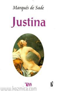 Portada de el libro de Justina