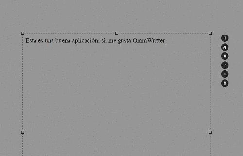 ommwriter aplicación util y bonita