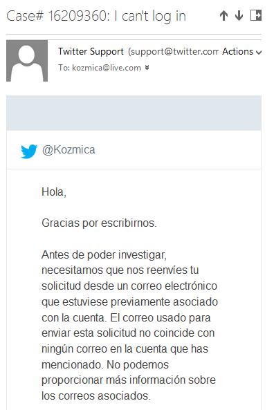 twitter-support-mandando-a-kozmica-al-diablo